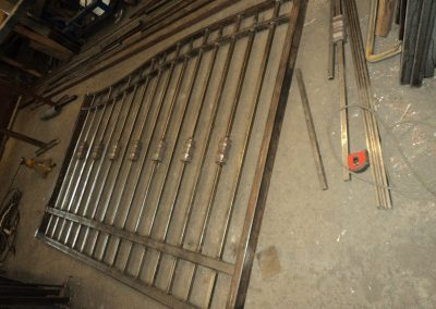 Welding Steel Gate